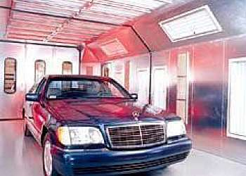 Preço de cabine de pintura automotiva