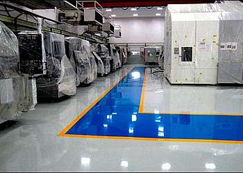 Pintura piso industrial