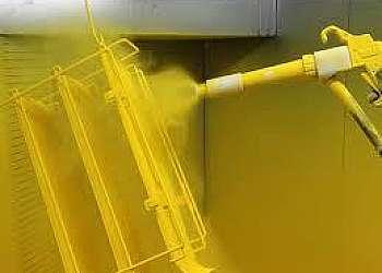 Pintura eletrostática industrial
