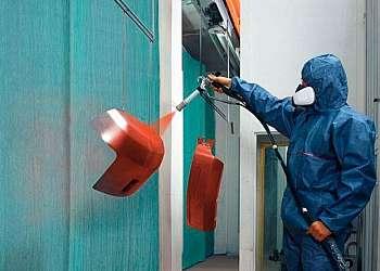Pintura eletrostática a pó serviço